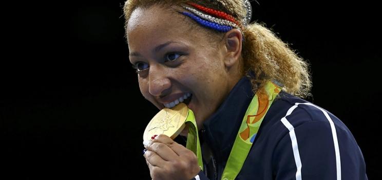 Estelle Mossely, une boxeuse en or